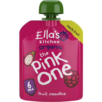 The pink one Smoothie av blandade frukter Ekologisk 90g Ellas Kitchen