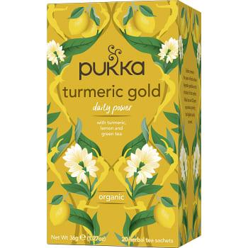 Turmeric Gold te Ekologisk 20-p Pukka