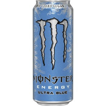 Energidryck Ultra blue 50cl Monster Energy