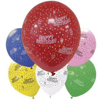 Ballonger Happy Birthday 6-p Packers