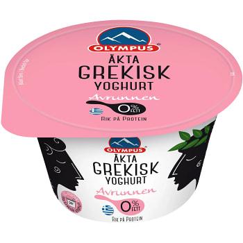 Grekisk yoghurt naturell 150g Olympus