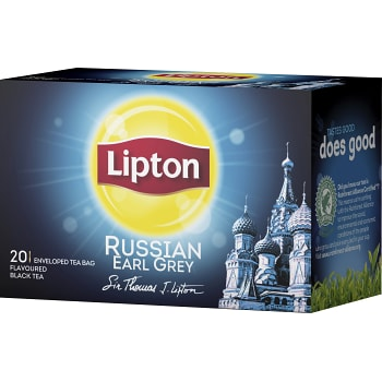 Russian Earl grey te 20-p Lipton