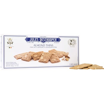 Almond thins 100g Jules Destrooper