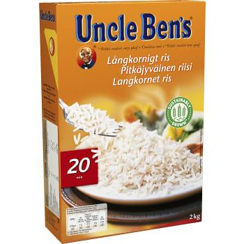 Långkornigt Ris 2kg Uncle Bens
