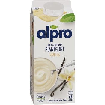 Yofu Mild & creamy Vanilj Laktosfri 750ml Alpro