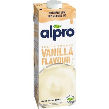 Sojadryck Vanilj 3,4% 1l  Alpro