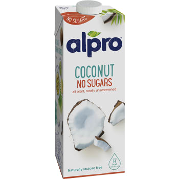 Kokosdryck osötad 1l Alpro