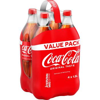 Läsk Coca-Cola 1,5l 4-p