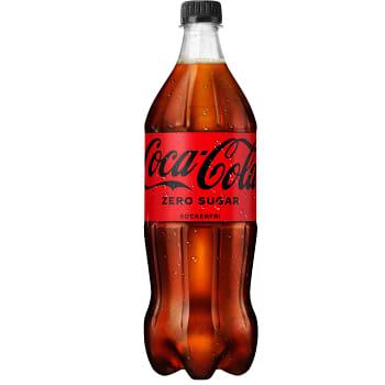 Läsk Zero 1l Coca-Cola
