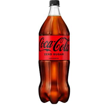 Läsk Coca-Cola Zero 1,5l