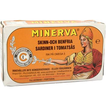 Sardiner i tomatsås 120g Minerva