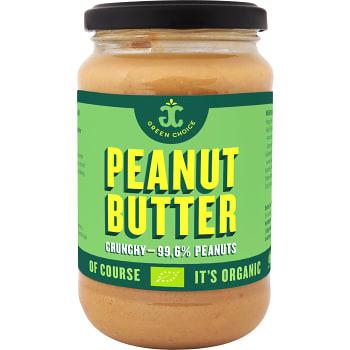 Peanut butter Crunchy 340g KRAV Green choice