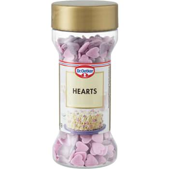 Bakdekor Hearts 40g Dr. Oetker