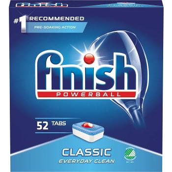 Maskindisktabletter Classic 52-p Miljömärkt Finish