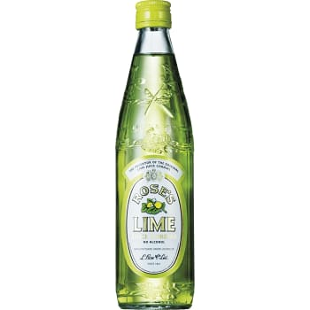 Lime cordial Drinkmix Alkoholfri 57cl Rose's