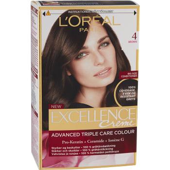 Hårfärg 4 Brun 1-p Excellence