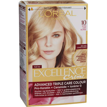 Hårfärg 10 Extra light blonde 1-p Excellence