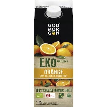 Juice Orange Ekologisk 1,75l KRAV God Morgon