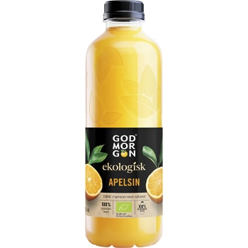 Juice Apelsin Ekologisk 850ml God morgon