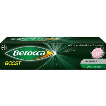 Boost Brustabletter Kosttillskott 15-p Berocca