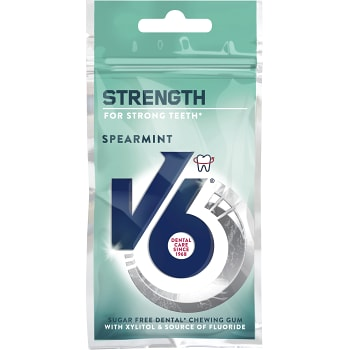 Tuggummi Strength Spearmint Sockerfri 30g V6