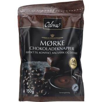Chokladknapp Mörk 150g Odense