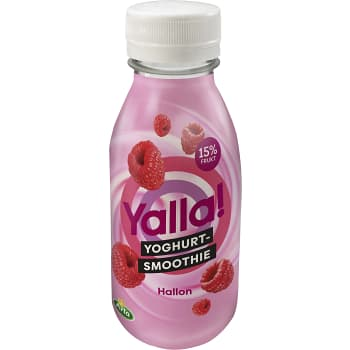 Yalla smoothie hallon 350ml Yoggi