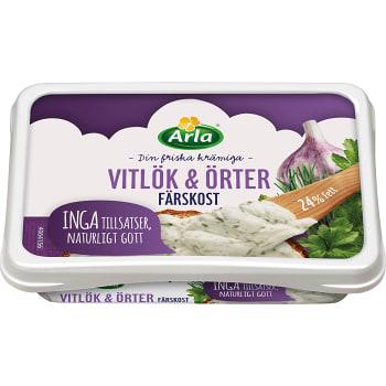 Färskost Vitlök & örter 150g Arla