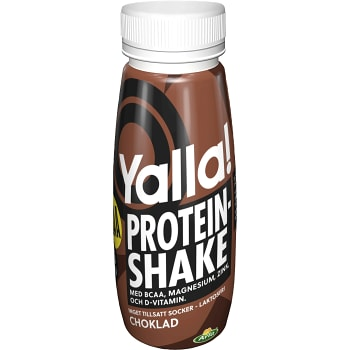 Proteinshake BCAA Choklad Laktosfri 250ml Arla