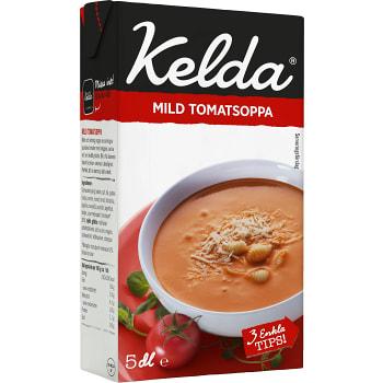 Mild tomatsoppa 3% 500ml Kelda