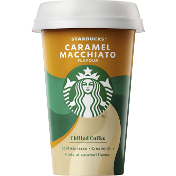 Caramel macchiato 220ml Fairtrade Starbucks