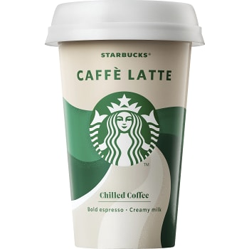 Kaffedryck Seattle latte 220ml Fairtrade Starbucks