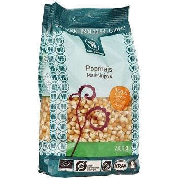 Popcornmajs 400g KRAV Urtekram