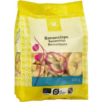 Bananchips Ekologisk 200g Urtekram