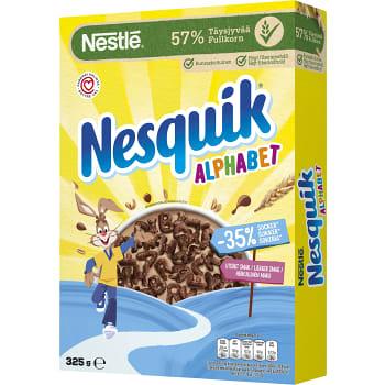 Flingor Alphabet Nesquick 325g Nestle