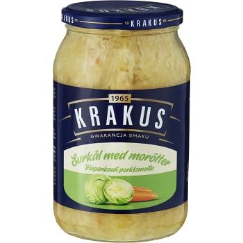 Surkål med Morötter 900g Krakus