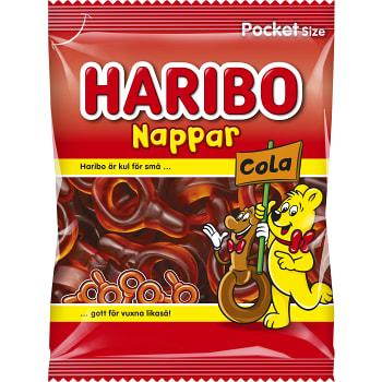 Nappar Cola 80g Haribo