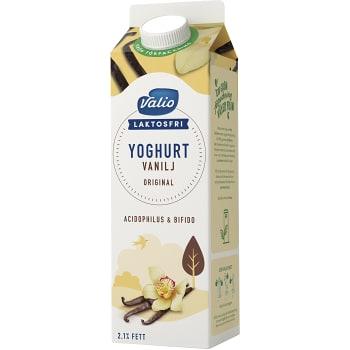 Vaniljyoghurt Laktosfri 2,1% 1l Valio