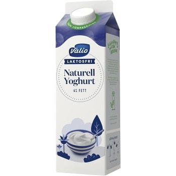 Yoghurt Naturell Laktosfri 4% 1l Valio Eila