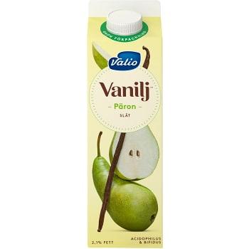 Vaniljyoghurt Päron utan fruktbitar 2,1% 1000g Valio