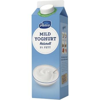 Yoghurt Naturell 3% 1000g Valio