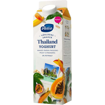 Yoghurt Världens smaker Thailand 2% 1kg Valio