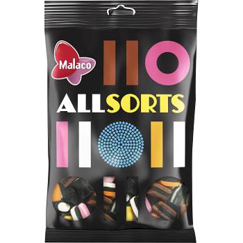 Engelsk Lakritskonfekt 400g Malaco