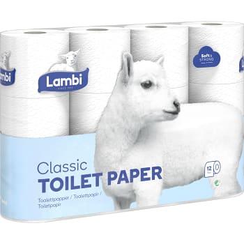 Toalettpapper 12-p Lambi