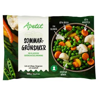 Sommargrönsaker 600g Apetit