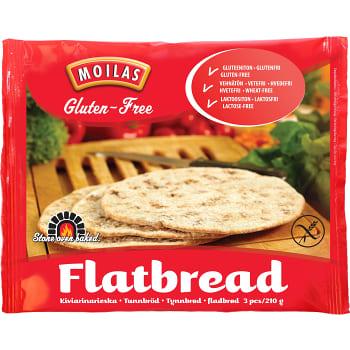 glutenfritt tunnbröd ica