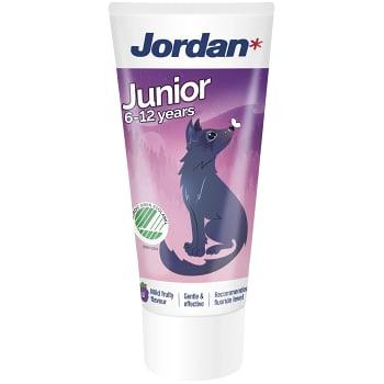 Tandkräm Junior 6-12år 50ml Jordan