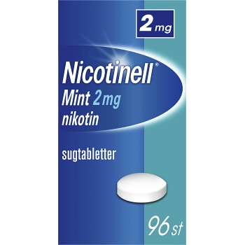 Nicotinell Mint Sugtablett 2mg 96-p