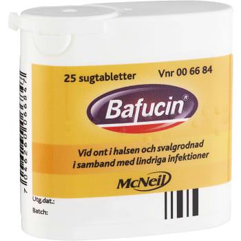 Bafucin Sugtablett 25-p