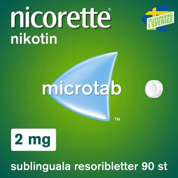Nicorette Resoriblett 2mg 90-p